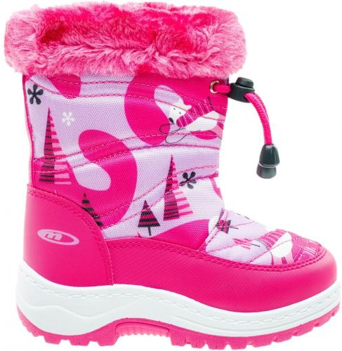 Martes Buty juniorskie BEARIS KIDS pink/bear print r. 27