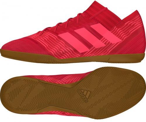 Adidas Buty piłkarskie Nemeziz Tango 17.3 IN czerwone r. 46 2/3 (CP9112)