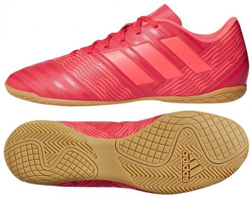 Adidas Buty piłkarskie Nemeziz Tango 17.4 IN czerwone r. 47 1/3 (CP9087)