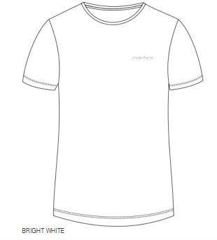 Martes T-shirt BRANDO JR biały r. 164
