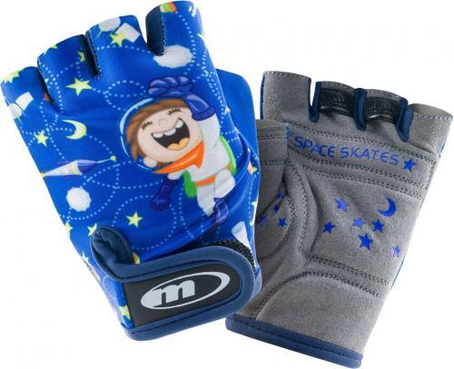 MARTES Rękawiczki Space Boy niebieskie r. XS