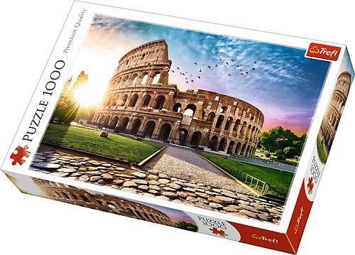 Trefl Puzzle 1000el Koloseum w promieniach słońca (10468 TREFL)