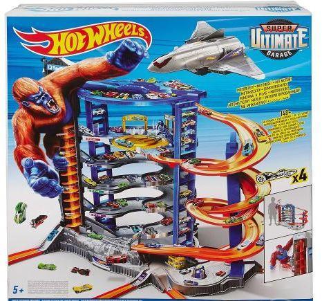 Hot Wheels Mattel Hot Wheels Super Super Mega Garaż (FDF25)