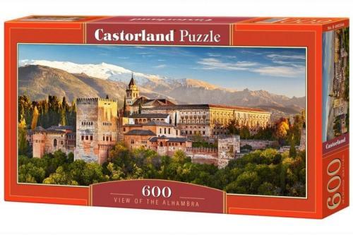 Castor Puzzle, 600 elementów - Widok na Alhambrę  (GXP-626538)