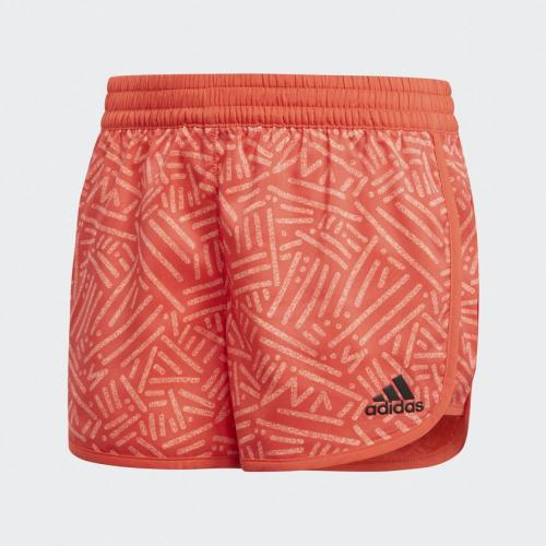 Adidas SpodenkiYG TR MAR Short czerwony 158 cm (CF7186)