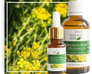 Your Natural Side Olej z gorczycy białej nierafinowany 50ml
