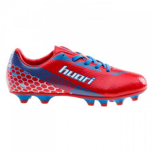 Huari Buty Piłkarskie Thiago Teen FG Red/Lake Blue/White r. 38