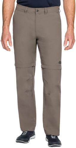 Jack Wolfskin Spodnie męskie CANYON ZIP OFF PANTS Siltstone r. 56 (1504191)