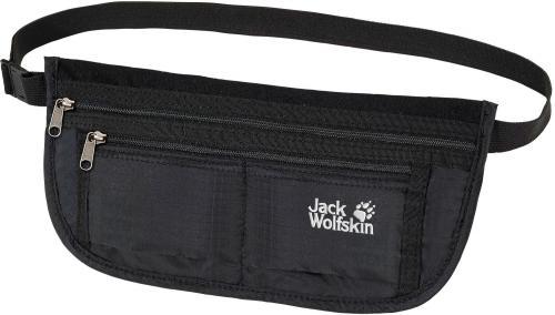 Jack Wolfskin Saszetka Document Belt De Luxe Black (84370-60)