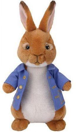 TY Beanie Babies Peter Rabbit - Peter Rabbit, 15 cm  (268741)