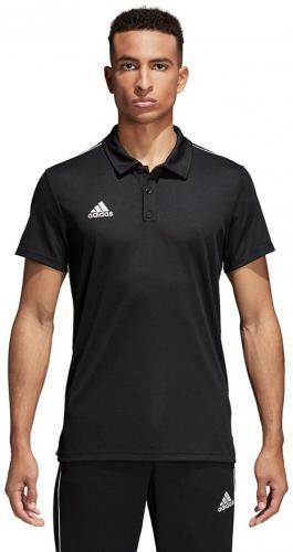 Adidas Koszulka piłkarska polo Core 18 czarne r. S (CE9037)