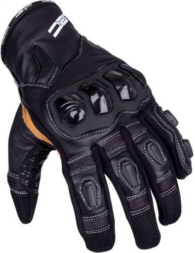W-TEC Rękawice motocyklowe skórzane Flanker B-6035 czarne r. L (16296)