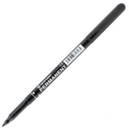 Centropen marker czarny permanentny  (2536/12)