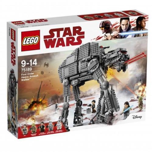 LEGO STAR WARS Ciężka maszyna krocząca Najwyższego Porządku (75189)