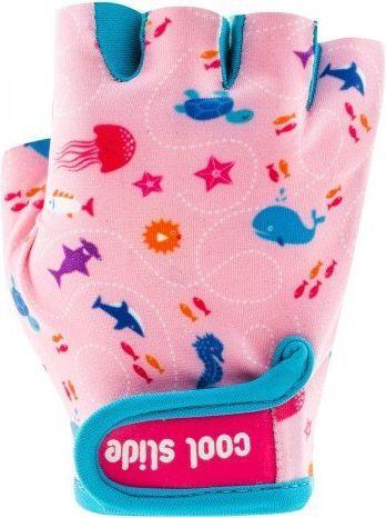CoolSlide Rękawiczki rowerowe dziecięce Mermaid Gloves różowe r. XS
