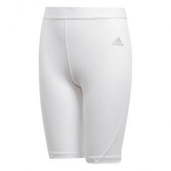 Adidas Spodenki  ASK Short Tight białe r. 164 cm (CW7351)