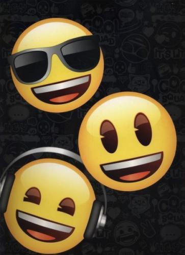 Derform Teczka A4 Emoji 1/10(TGA4EM)