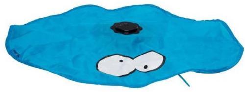 COOCKOO Zabawka dla kota Hide niebieska 15x15x6 cm