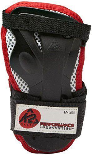 K2 Ochraniacze męskie na nadgarstki Performance Wrist Guard czarno-czerwone r. XL (3041503)