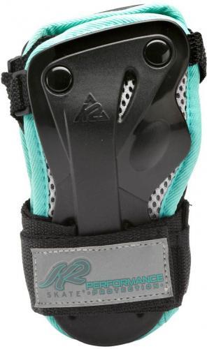 K2 Ochraniacze damskie Performance Wrist Guard czarno-niebieskie r. S (3041604)