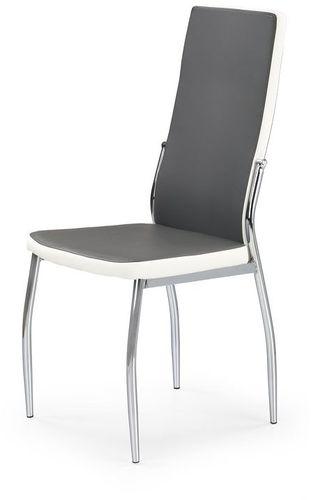 Halmar Krzesło K210 popielato-białe
