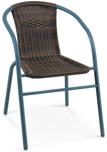 Halmar Krzesło GRAND 2 ciemnozielony / ciemny brąz