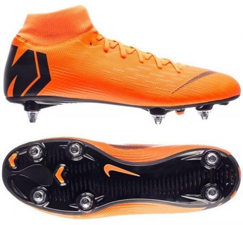 Nike Buty piłkarskie Mercurial Superfly 6 Academy SG Pro pomarańczowe r. 40.5 (AH7364-810)
