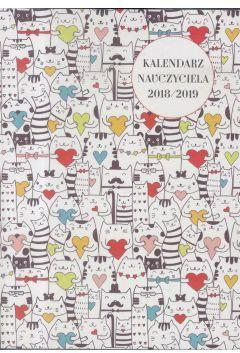 WOKÓŁ NAS Kalendarz Nauczyciela A5 2018/2019 (272611)