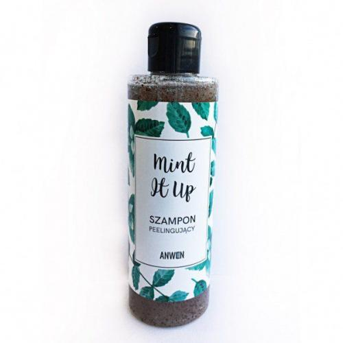 Anwen Szampon peelingujący - Mint it up 200ml