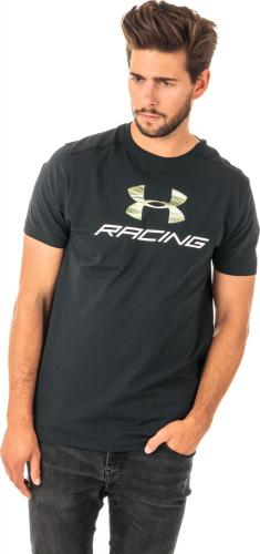 Under Armour Koszulka męska Racing Pack SS Tee Black r. XL (1313246-001)