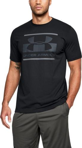 Under Armour Koszulka męska Blocked Sportstyle Logo Black r. S (1305667001)