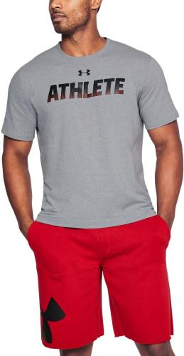 Under Armour Koszulka męska UA Athlete Gray r. XL (1305661035)