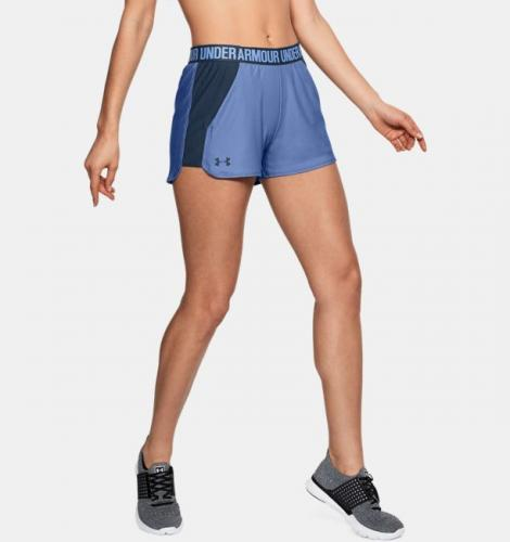 Under Armour Spodenki damskie PLA UP SHORT 2.0 fioletowe r. S (1292231-586)