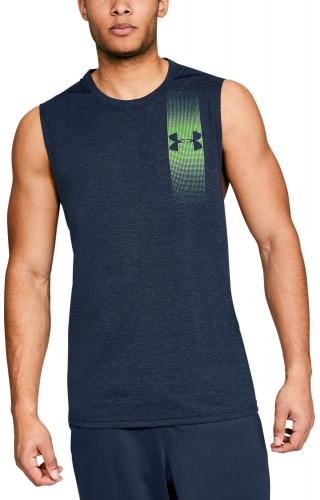 Under Armour Koszulka męska bezrękawnik Threadborne Training Muscle Tank Graphic Navy r. XL (1311261409)