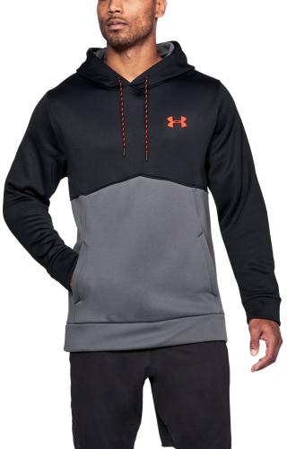 Under Armour Bluza męska AF ICON SOLID PO HOOD czarno-szara r. XL (1280729-003)