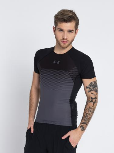 Under Armour Koszulka męska Threadborne Vanish SS Comp czarna r. XL (1320194-001)