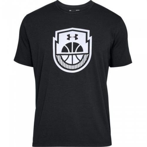 Under Armour Koszulka męska Basketball Icon SS czarna r. XL (1305711-001)