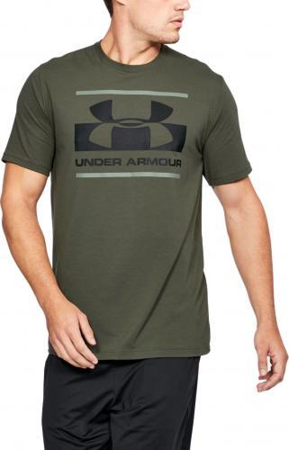 Under Armour Koszulka męska Blocked Sportstyle Logo Green r. L (1305667330)