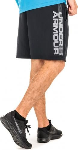 Under Armour Spodenki męskie Woven Graphic Wordmark Short czarne r. S (1320203-001)