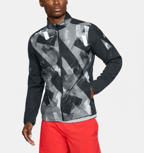 Under Armour Kurtka męska UA STORM OUT&BACK PRT JACKET grafitowa r. L (1305200-016)