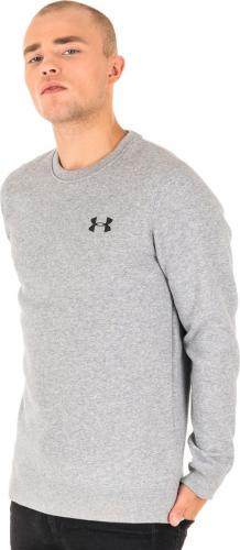 Under Armour Bluza męska Rival Solid Fitted Crew szara r. XL (1302854-035)