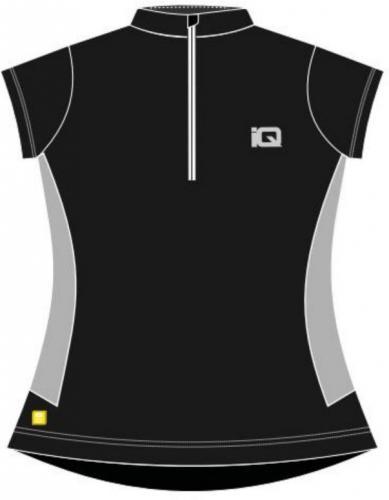 IQ Koszulka rowerowa Deva Wmns czarno-szara  r. M