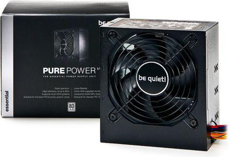 Zasilacz be quiet! Pure Power L7-530W 80plus, activePFC, 2x12Vrails,2xPCI-E (BN106)