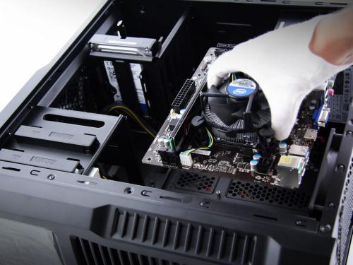 Montaż komponentów - zestaw komputerowy (od trzech elementów bez dodatkowego chłodzenia)