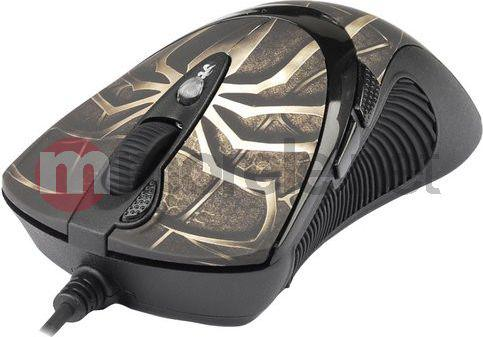 Mysz A4 Tech EVO XGame Laser Oscar X747 Extra Fire  Brown (A4TMYS29980)
