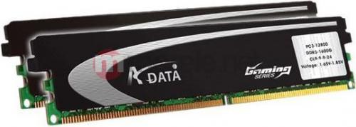 Pamięć ADATA XPG GAMING 2X2GB DDR3 1600MHz CL 9-9-9-24 + Heat Sink (AX3U1600GB2G9-AG)