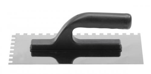 Vorel Paca tynkarska nierdzewna 270x125mm ząb 6x6mm (06760)