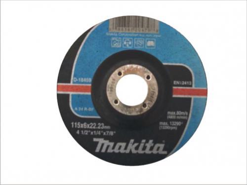 Makita Tarcza do szlifowania metalu wypukła 125x22,2x6,0mm (D-18465)