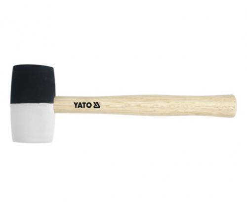 Yato Młotek gumowy rączka drewniana 340g 291mm (YT-4601)