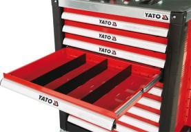 Yato Przegroda do wózków narzędziowych 391 x 58mm (YT-0910)
